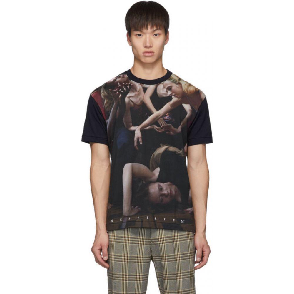 アンダーカバー Undercover メンズ Tシャツ トップス【black 'suspirium' dancers t-shirt】Black