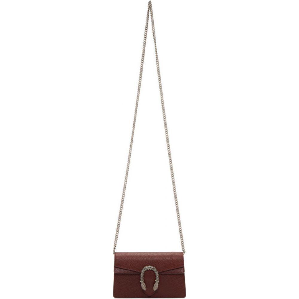 グッチ Gucci レディース ショルダーバッグ バッグ【bergundy super mini dionysus chain bag】Bordeaux