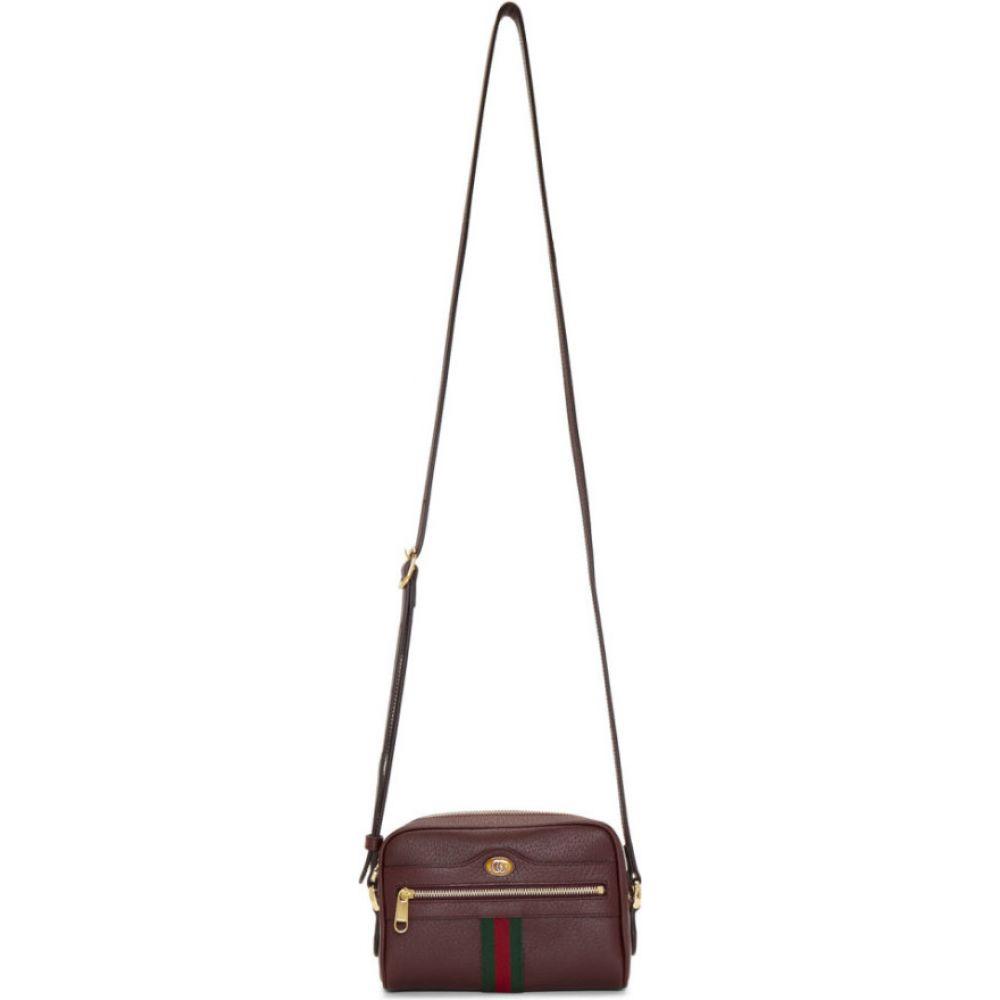 グッチ Gucci レディース ショルダーバッグ バッグ【burgundy ophidia shoulder bag】Bordeaux