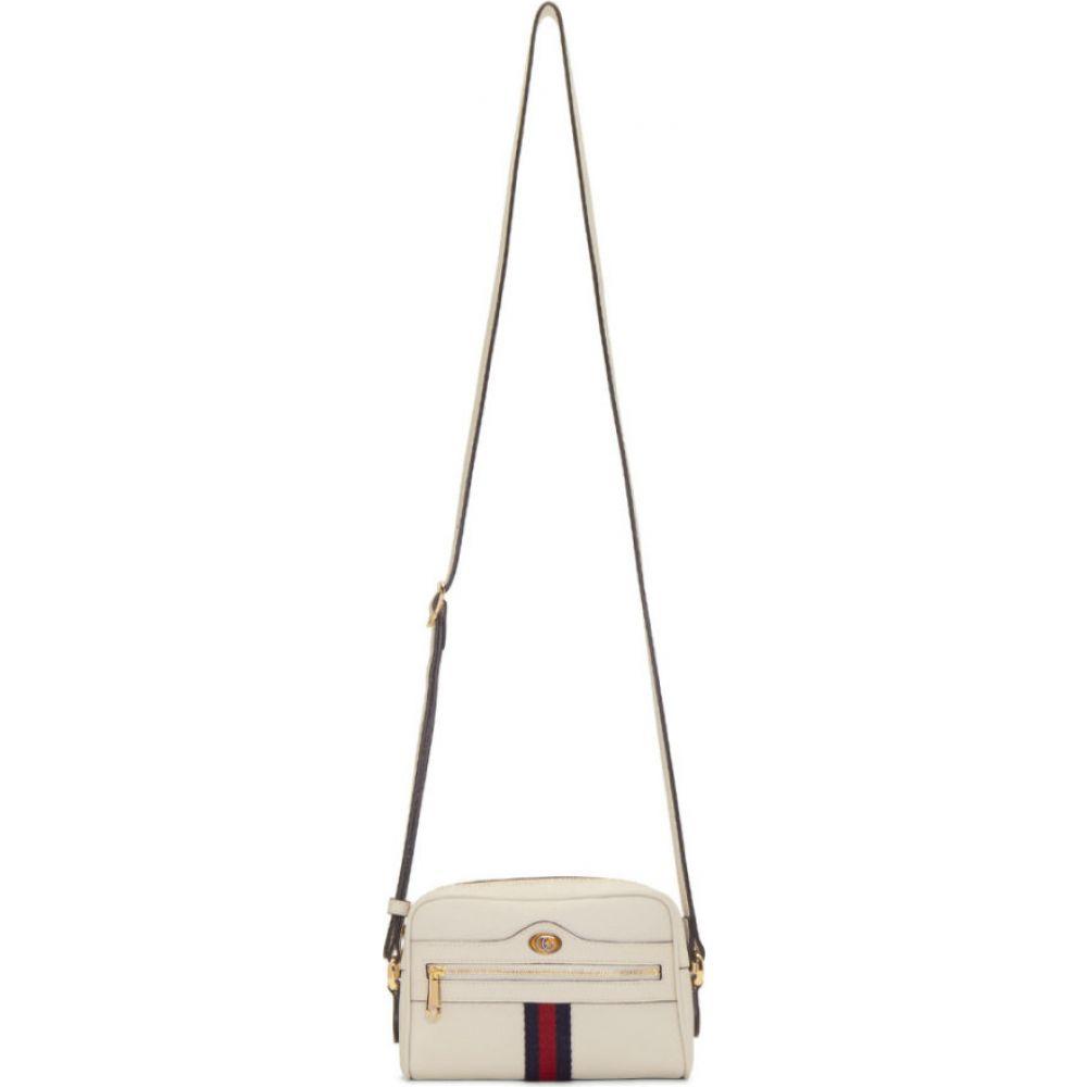グッチ Gucci レディース ショルダーバッグ バッグ【white mini ophidia bag】White