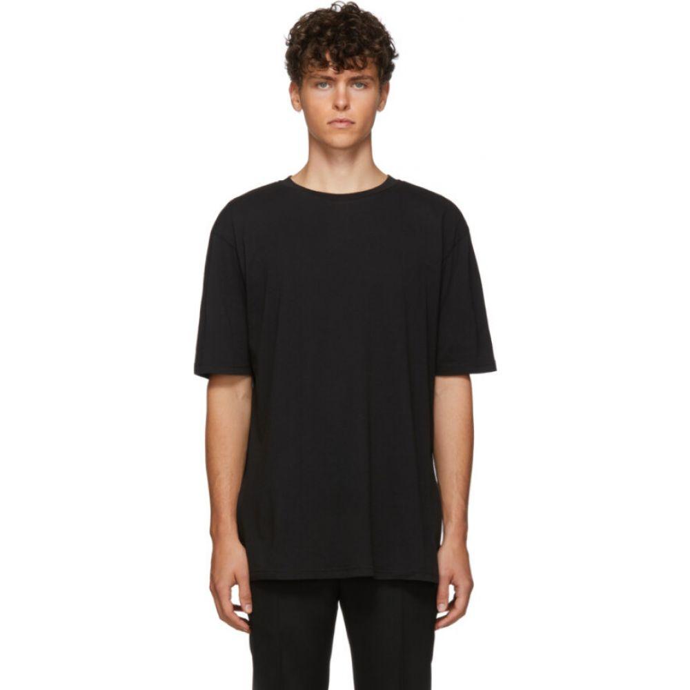 ハイダー アッカーマン Haider Ackermann メンズ Tシャツ トップス【black awuna t-shirt】Black