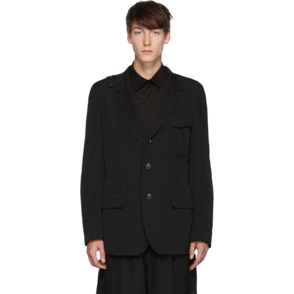 ヨウジヤマモト Yohji Yamamoto メンズ スーツ・ジャケット アウター【black notch blazer】Black