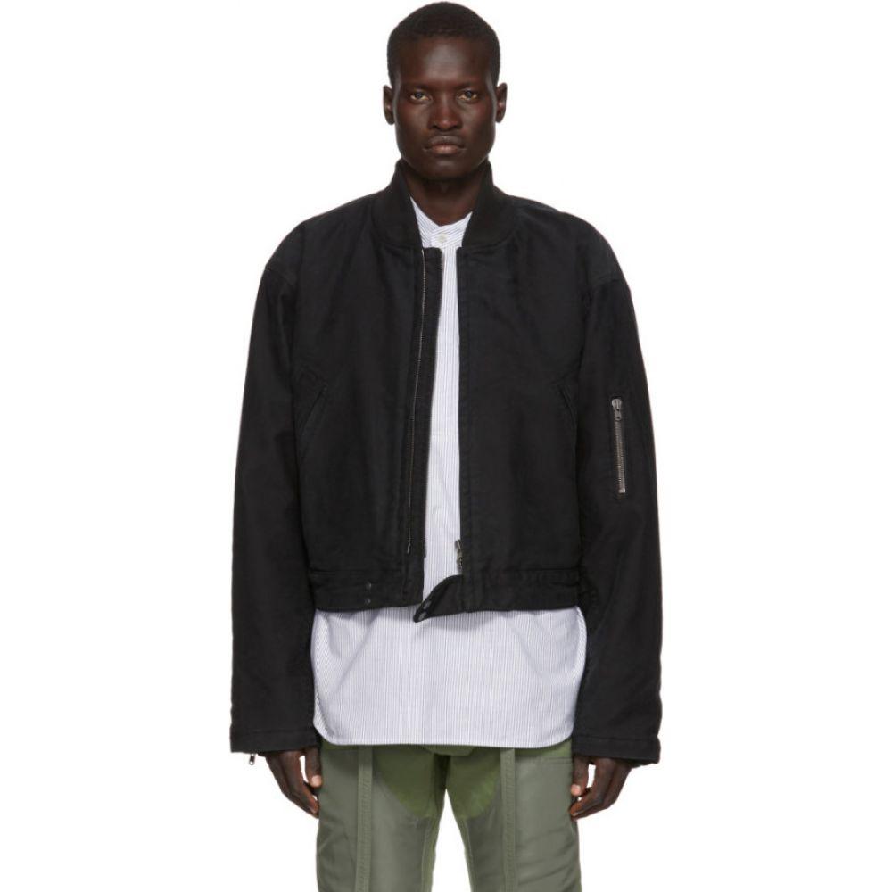 フィアオブゴッド Fear of God メンズ ブルゾン ミリタリージャケット アウター【black 'sixth collection' bomber jacket】Black
