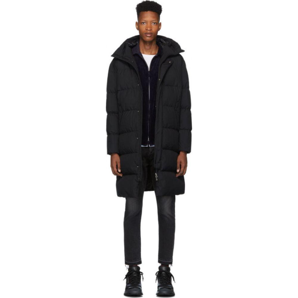 ヘルノ Herno メンズ ダウン・中綿ジャケット アウター【black down oversized laminar coat】Black