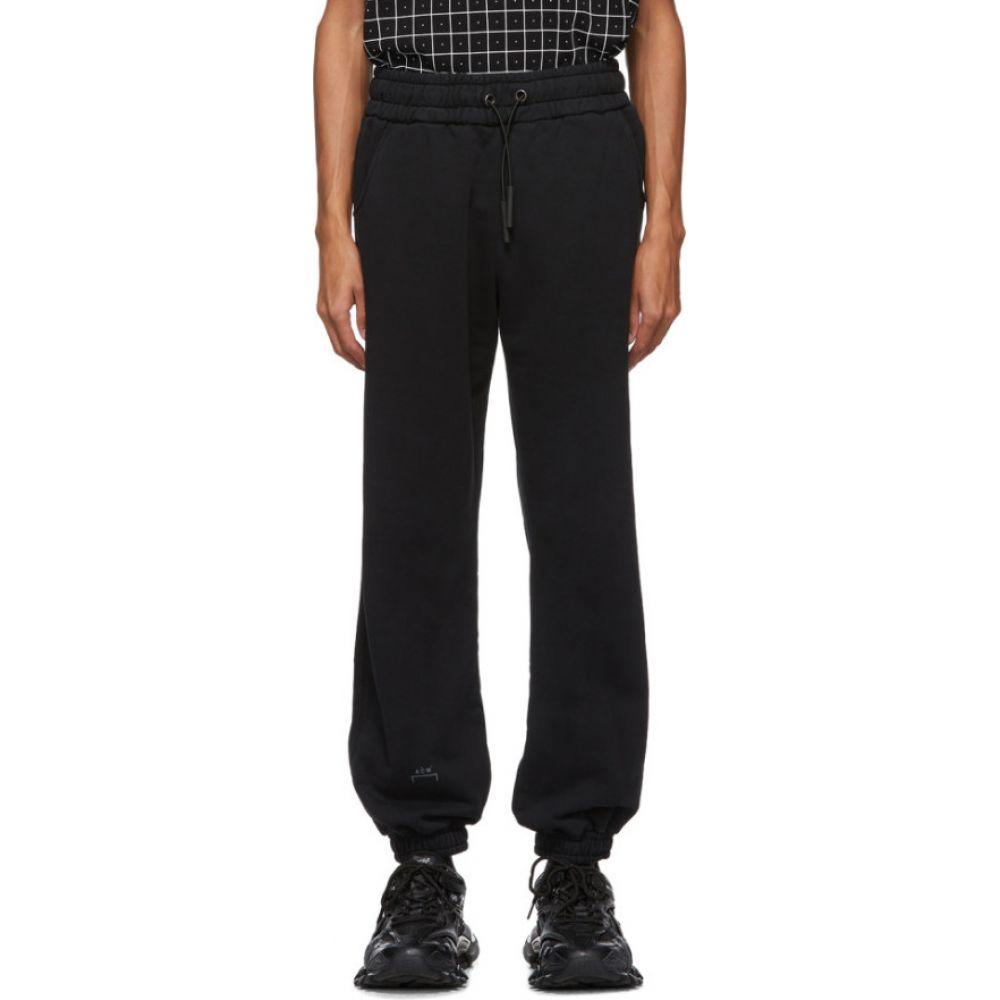 アコールドウォール A-COLD-WALL* メンズ スウェット・ジャージ ボトムス・パンツ【black jersey core reflective logo lounge pants】Black