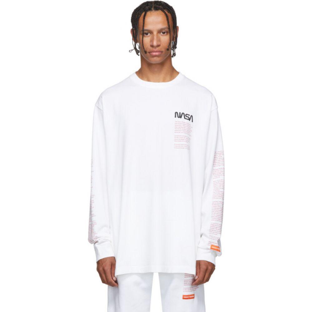 ヘロン プレストン Heron Preston メンズ Tシャツ トップス【white facts t-shirt】White multi