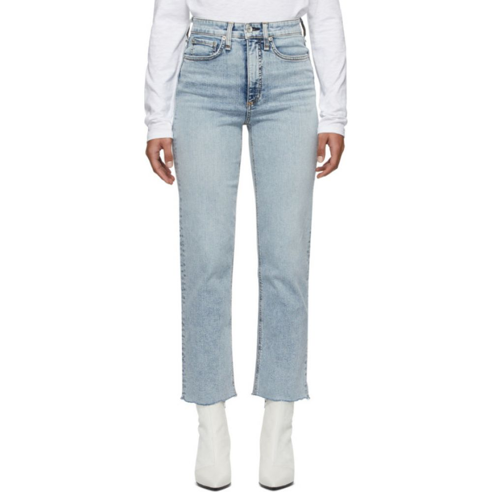 ラグ&ボーン rag & bone レディース ジーンズ・デニム ボトムス・パンツ【blue jane super high-rise ankle cigarette jeans】Dakota