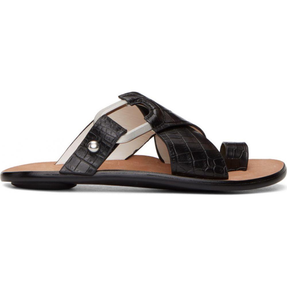 ラグ&ボーン rag & bone レディース サンダル・ミュール シューズ・靴【black croc august slides】Black