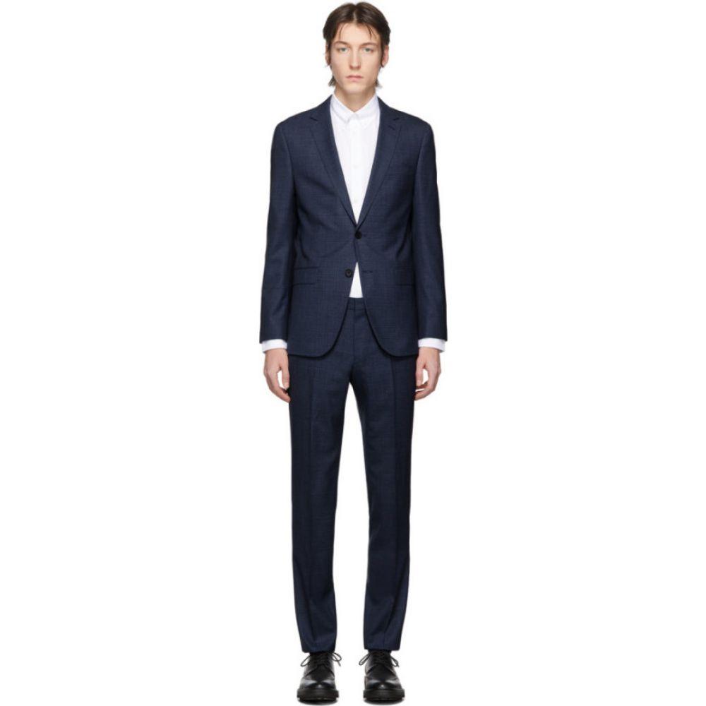 ヒューゴ ボス Boss メンズ スーツ・ジャケット アウター【navy novan6/ben2 suit】Navy