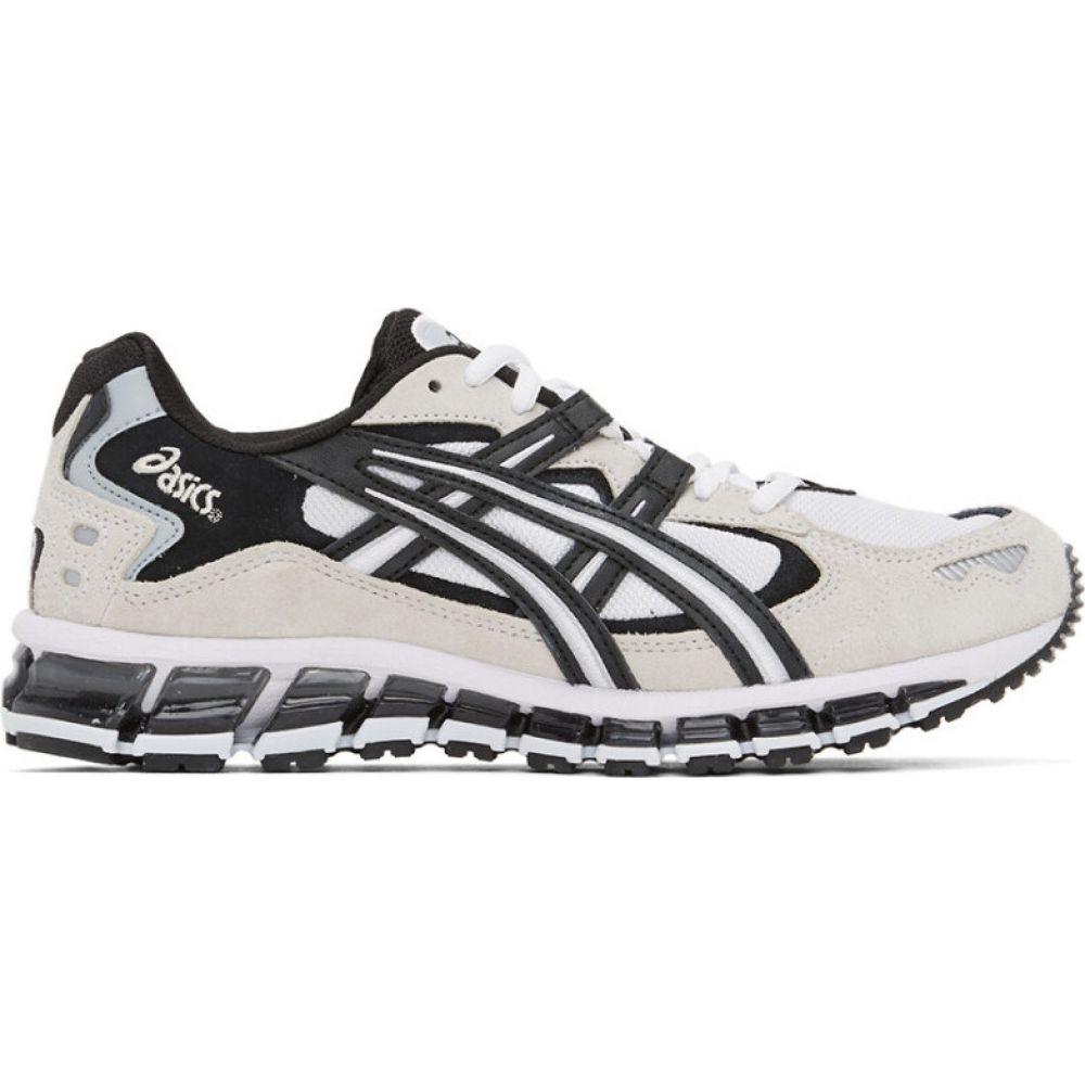 アシックス Asics メンズ スニーカー シューズ・靴【white & black gel-kayano 5 360 sneakers】Black/White