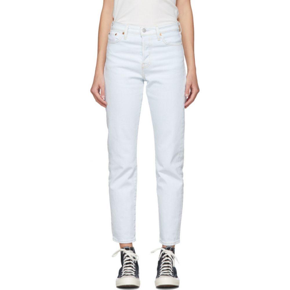 リーバイス Levi's レディース ジーンズ・デニム ボトムス・パンツ【blue wedgie fit icon jeans】Faint heart