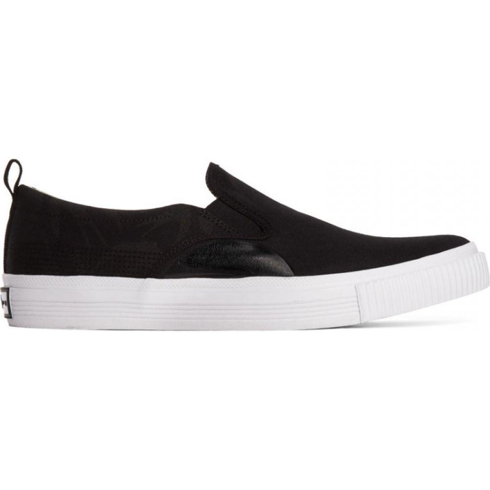 アレキサンダー マックイーン McQ Alexander McQueen メンズ スリッポン・フラット シューズ・靴【black swallow prim slip-on sneakers】Black