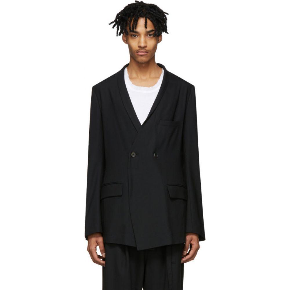 ベッドフォード BED J.W. FORD メンズ スーツ・ジャケット ディナージャケット アウター【black wool dinner jacket】Black