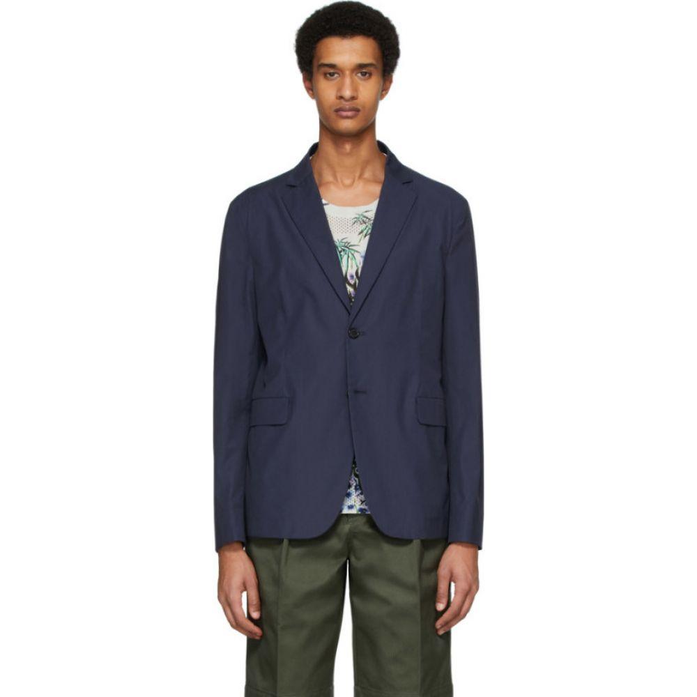 アクネ ストゥディオズ Acne Studios メンズ スーツ・ジャケット アウター【blue poplin suit blazer】Dark blue