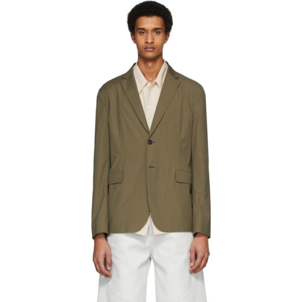 アクネ ストゥディオズ Acne Studios メンズ スーツ・ジャケット アウター【green poplin suit blazer】Hunter green