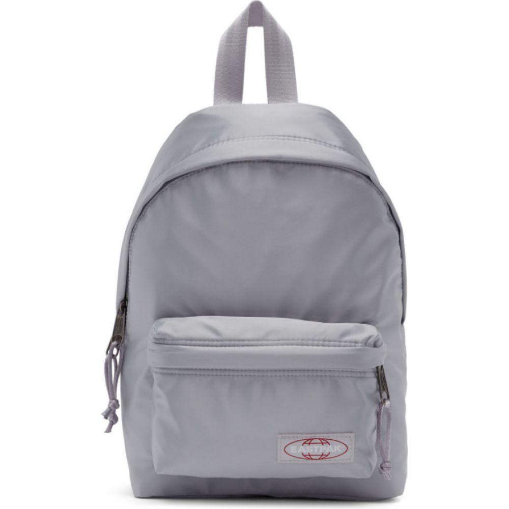 イーストパック Eastpak メンズ バックパック・リュック バッグ【silver satin orbit backpack】Satin silver