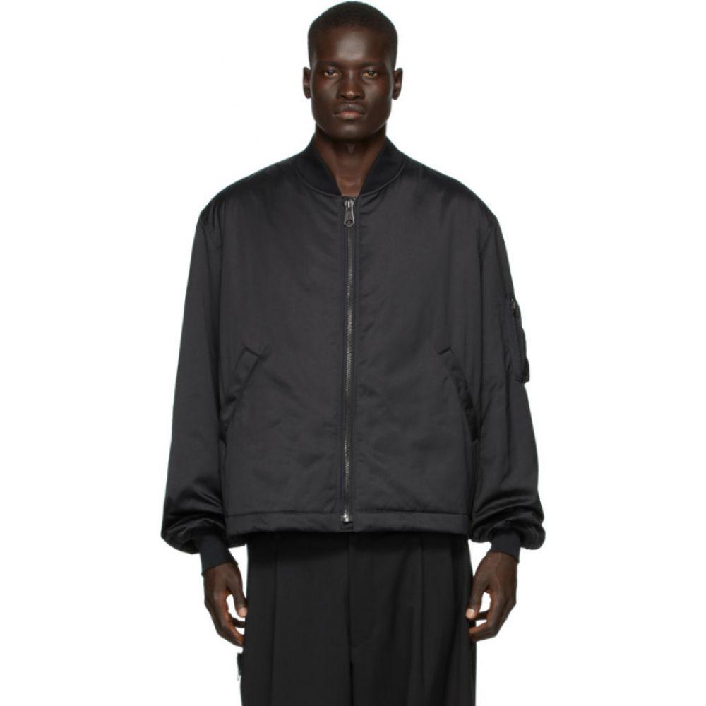 ワイスリー Y-3 メンズ ブルゾン ミリタリージャケット アウター【black craft bomber jacket】Black