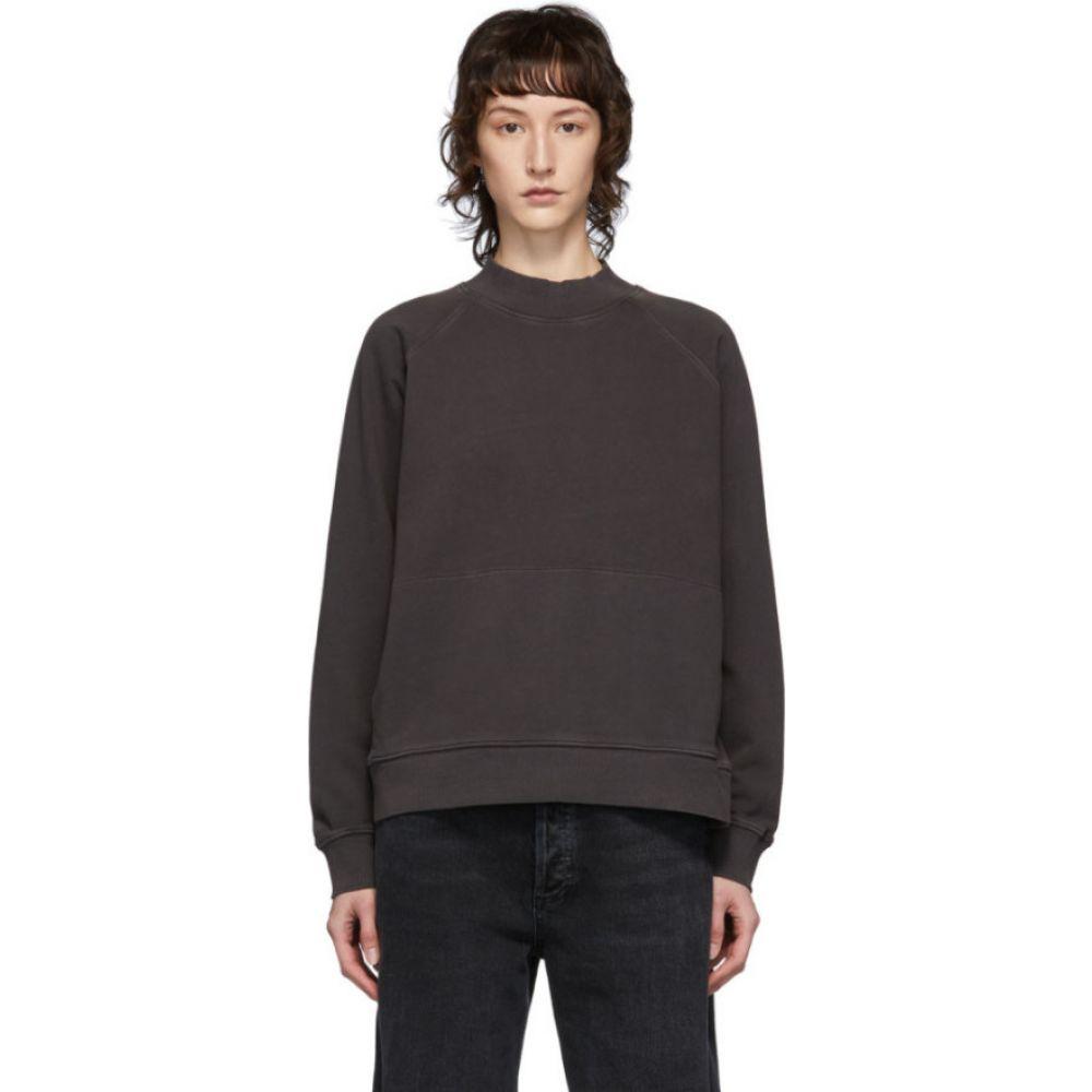 ワイエムシー YMC レディース スウェット・トレーナー トップス【grey touche sweatshirt】Slate