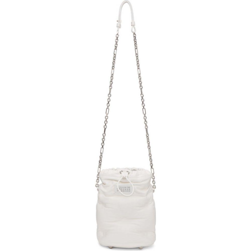 メゾン マルジェラ Maison Margiela レディース ショルダーバッグ バケットバッグ バッグ【white glam slam bucket bag】White