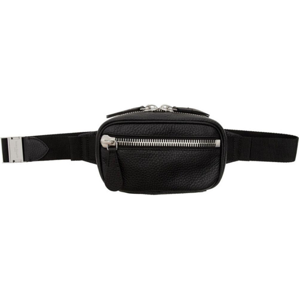 メゾン マルジェラ Maison Margiela メンズ ボディバッグ・ウエストポーチ バッグ【black small belt bag】Black