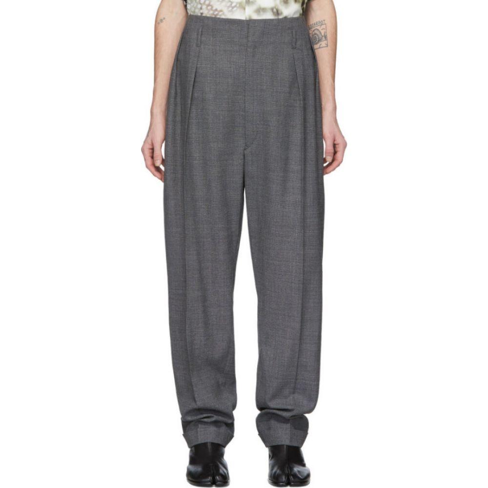 メゾン マルジェラ Maison Margiela メンズ スラックス ボトムス・パンツ【grey wool trousers】Grey