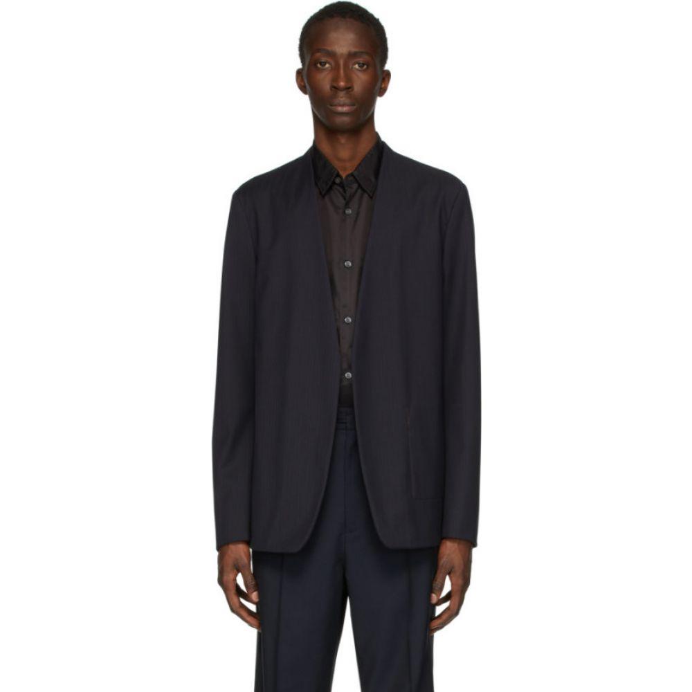 メゾン マルジェラ Maison Margiela メンズ スーツ・ジャケット アウター【navy wool blazer】Dark navy
