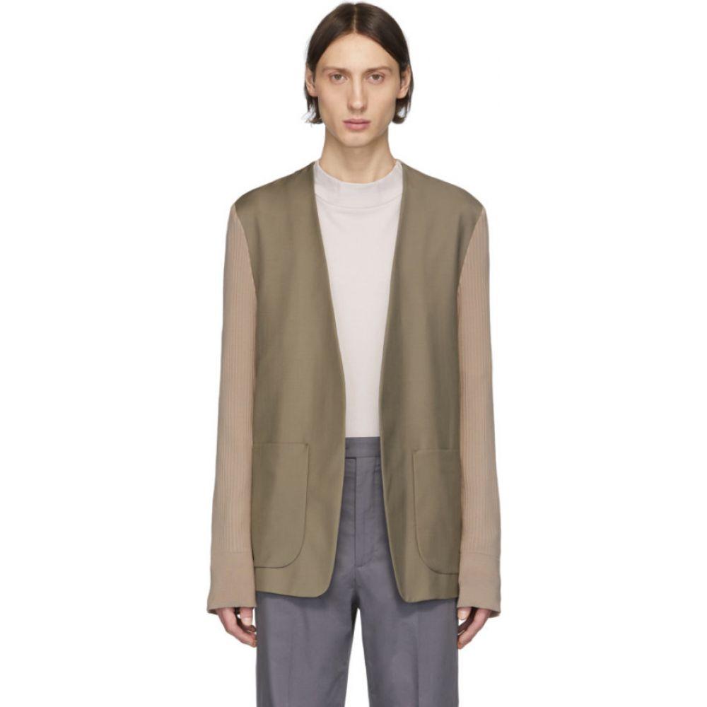 メゾン マルジェラ Maison Margiela メンズ スーツ・ジャケット アウター【taupe wool blazer】Taupe