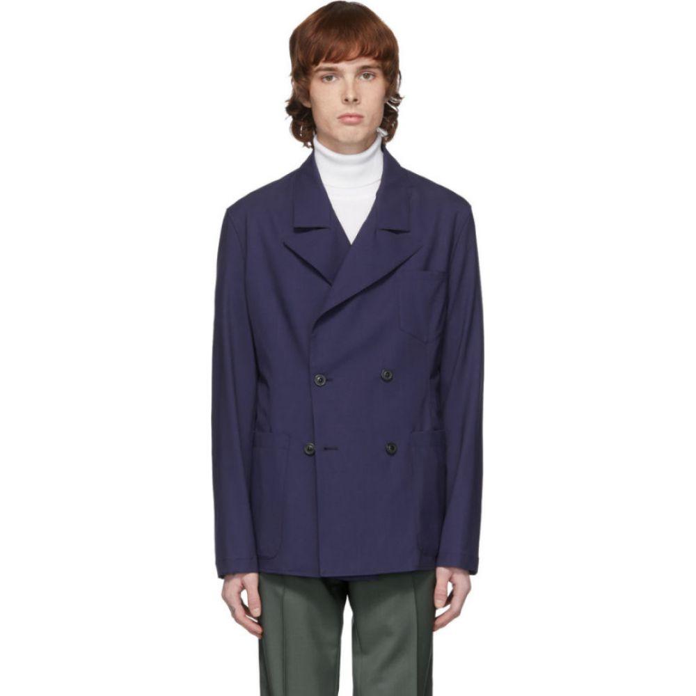 メゾン マルジェラ Maison Margiela メンズ スーツ・ジャケット アウター【navy wool blazer】Navy