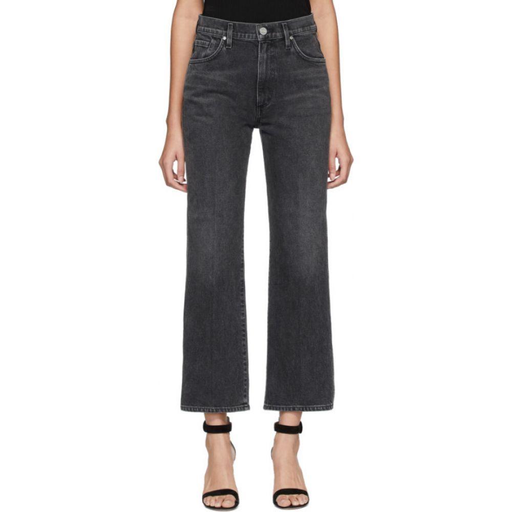 ゴールドサイン Goldsign レディース ジーンズ・デニム ボトムス・パンツ【black cropped high-rise jeans】Turner