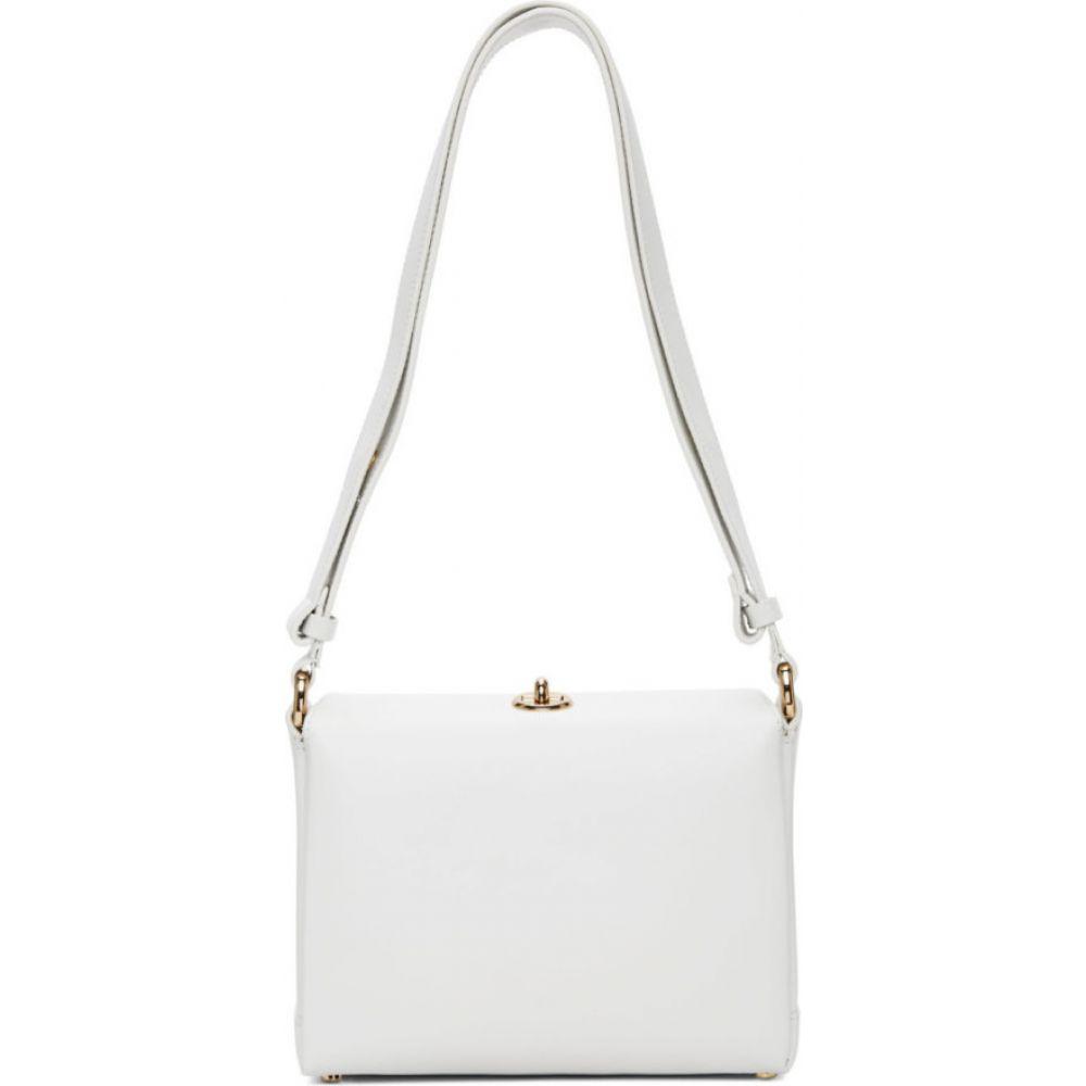 プラン C Plan C レディース ショルダーバッグ バッグ【white small shoulder bag】White