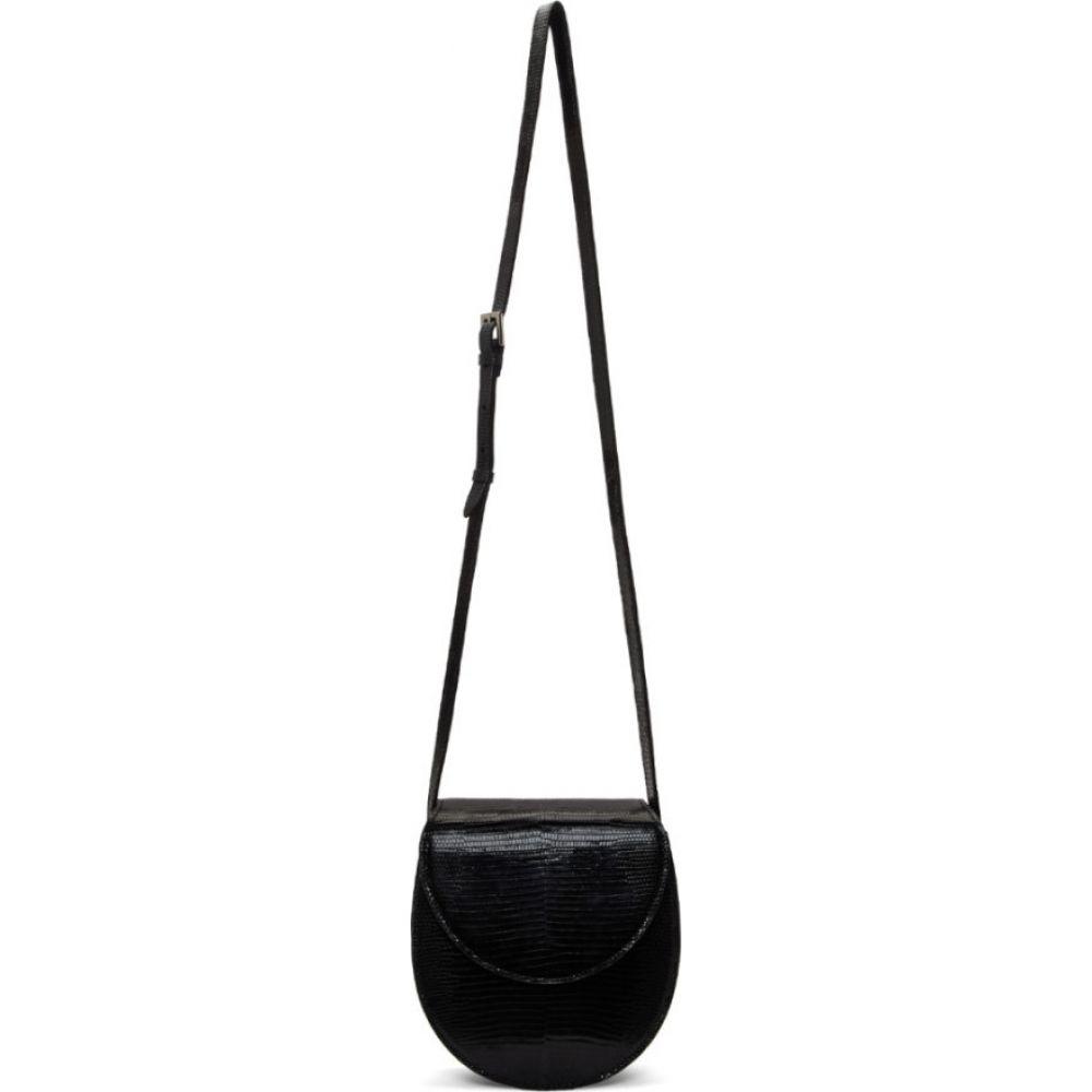 ハンティング シーズン Hunting Season レディース ショルダーバッグ バッグ【black lizard saddle bag】Black