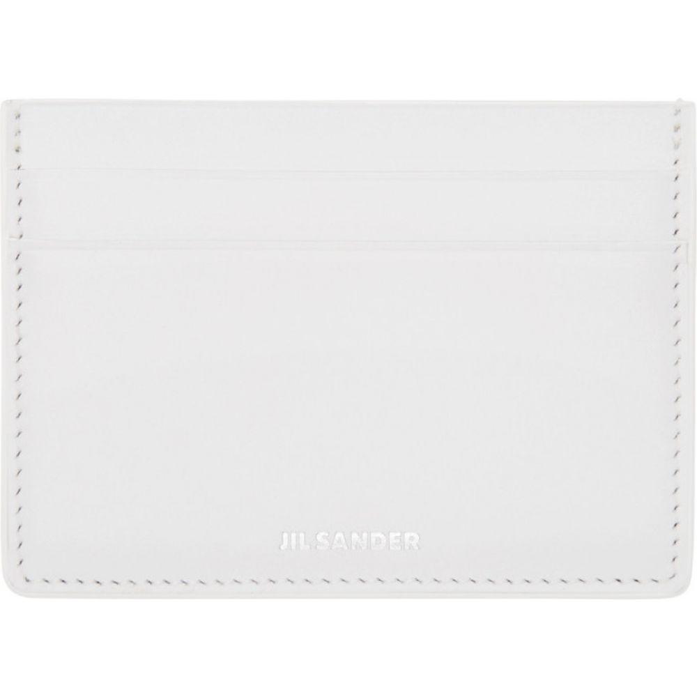 ジル サンダー Jil Sander レディース カードケース・名刺入れ カードホルダー【white leather card holder】White