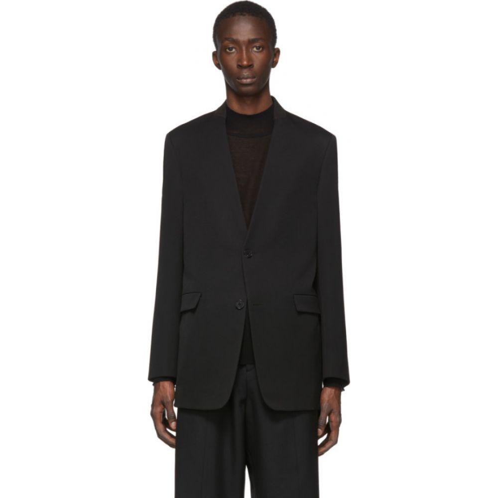 ジル サンダー Jil Sander メンズ スーツ・ジャケット アウター【black folded collar blazer】Black