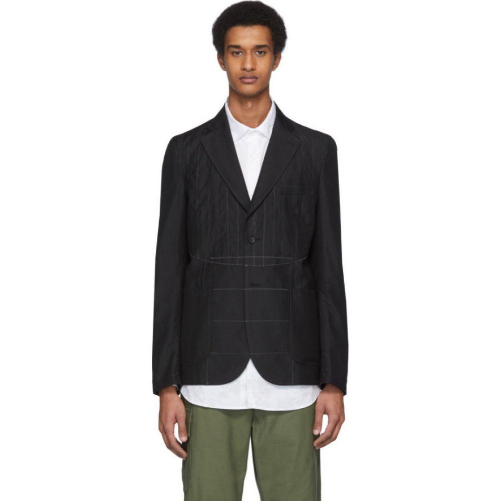 ジュンヤ ワタナベ Junya Watanabe メンズ スーツ・ジャケット アウター【black wool poplin blazer】Black