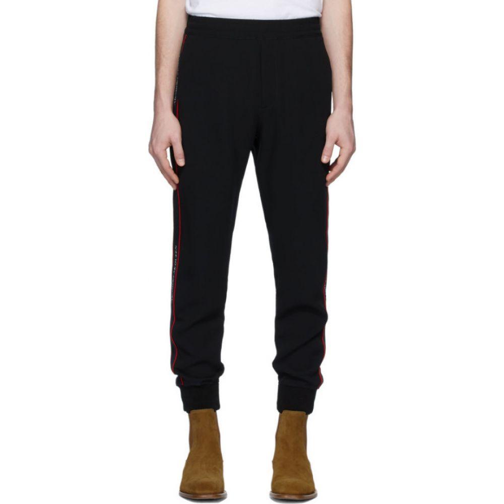 アレキサンダー マックイーン Alexander McQueen メンズ スウェット・ジャージ ボトムス・パンツ【black crepe lounge pants】Black