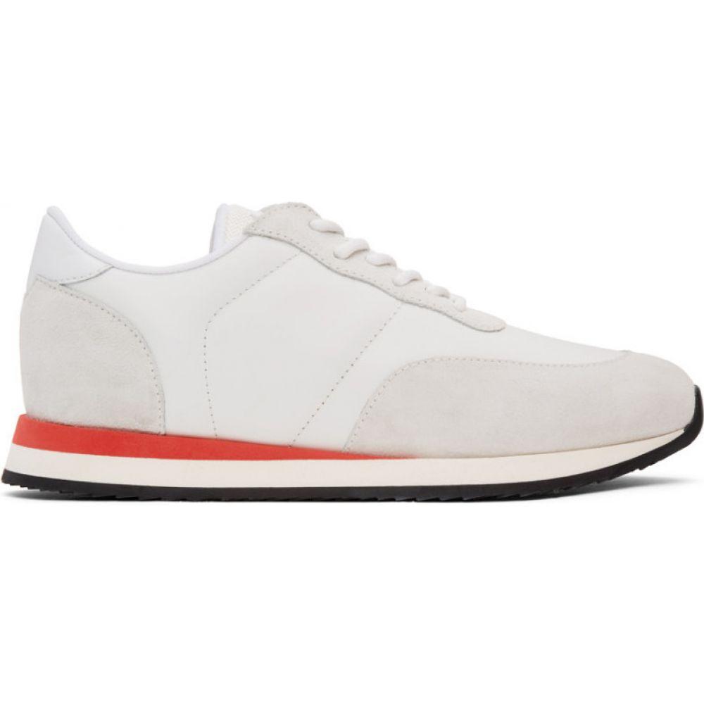 ジュゼッペ ザノッティ Giuseppe Zanotti メンズ スニーカー シューズ・靴【white jimy sneakers】White