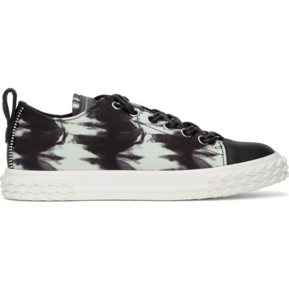 ジュゼッペ ザノッティ Giuseppe Zanotti メンズ スニーカー シューズ 靴 black & off-white blabber sneakers Off-white Black