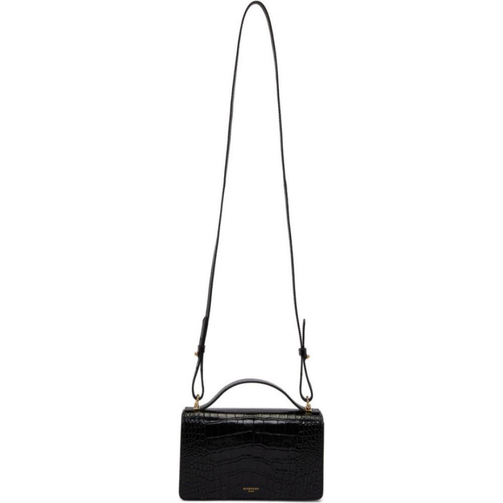 ジバンシー Givenchy レディース ショルダーバッグ バッグ【black croc gv3 wallet bag】Black