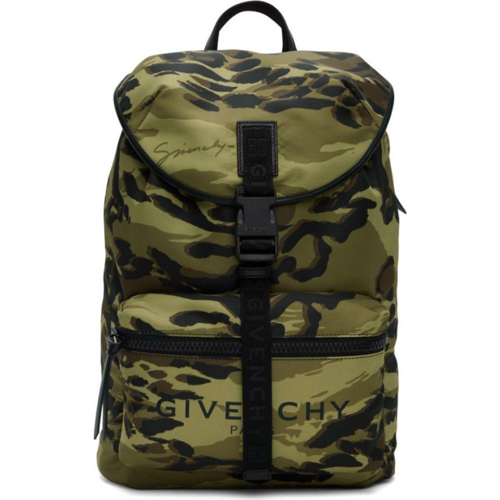 ジバンシー Givenchy メンズ バックパック・リュック バッグ【green camo light 3 backpack】Multi