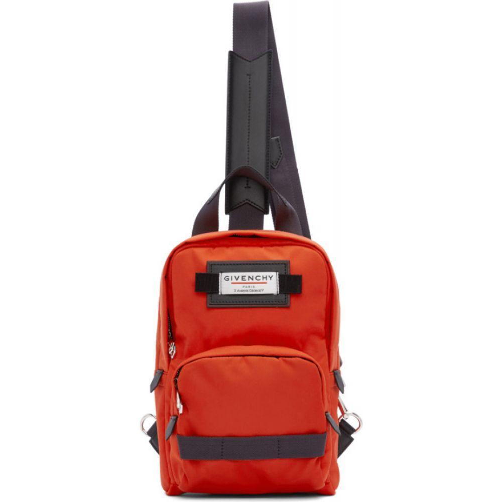 ジバンシー Givenchy メンズ バックパック・リュック バッグ【red & black small downtown sling backpack】Red/Black