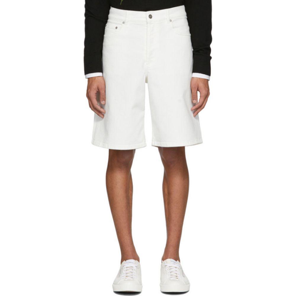 ジバンシー Givenchy メンズ ショートパンツ デニム バミューダ ボトムス・パンツ【white denim bermuda shorts】White