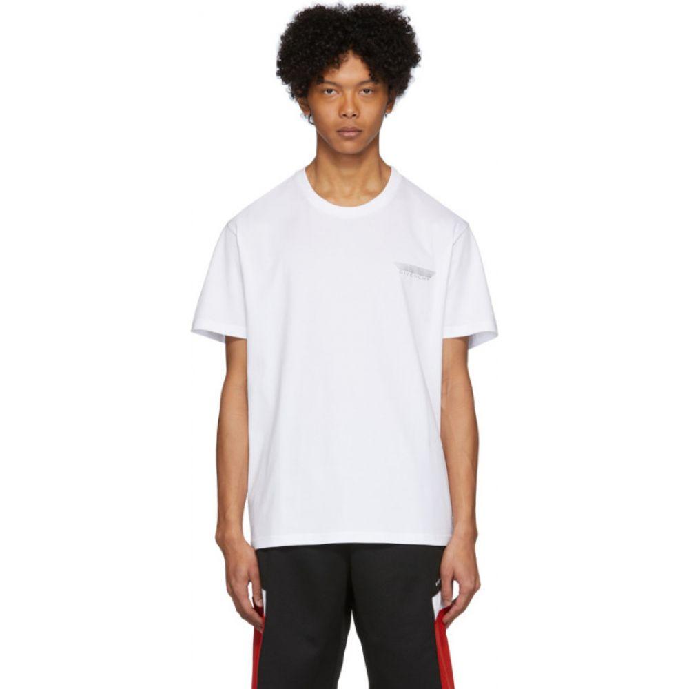 ジバンシー Givenchy メンズ Tシャツ トップス【white tape details t-shirt】White