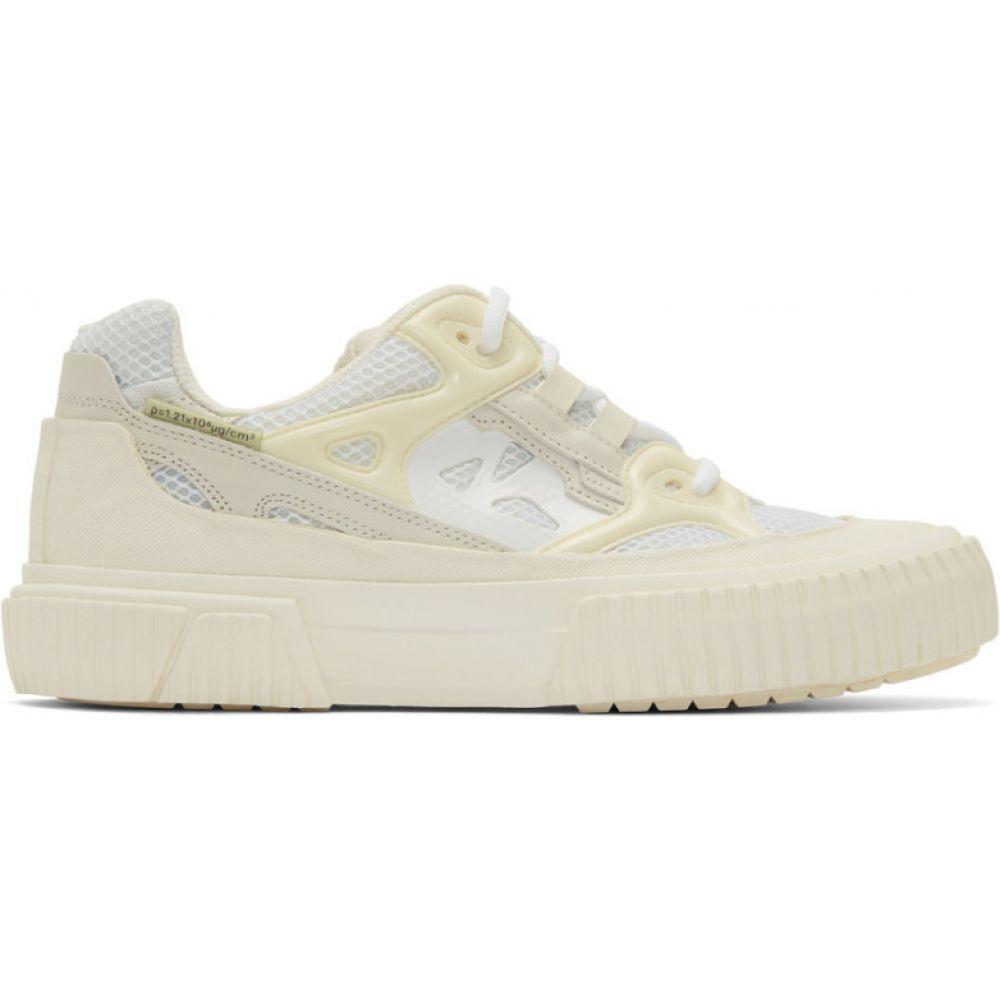 ボース both メンズ スニーカー シューズ・靴【white pro-tec runner low sneakers】White/White