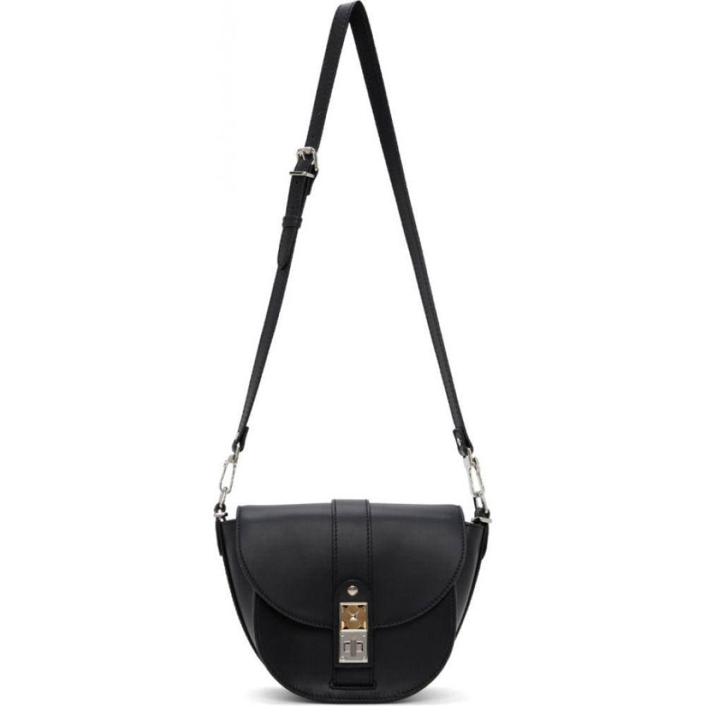 プロエンザ スクーラー Proenza Schouler レディース ショルダーバッグ バッグ【black small ps11 saddle bag】Black