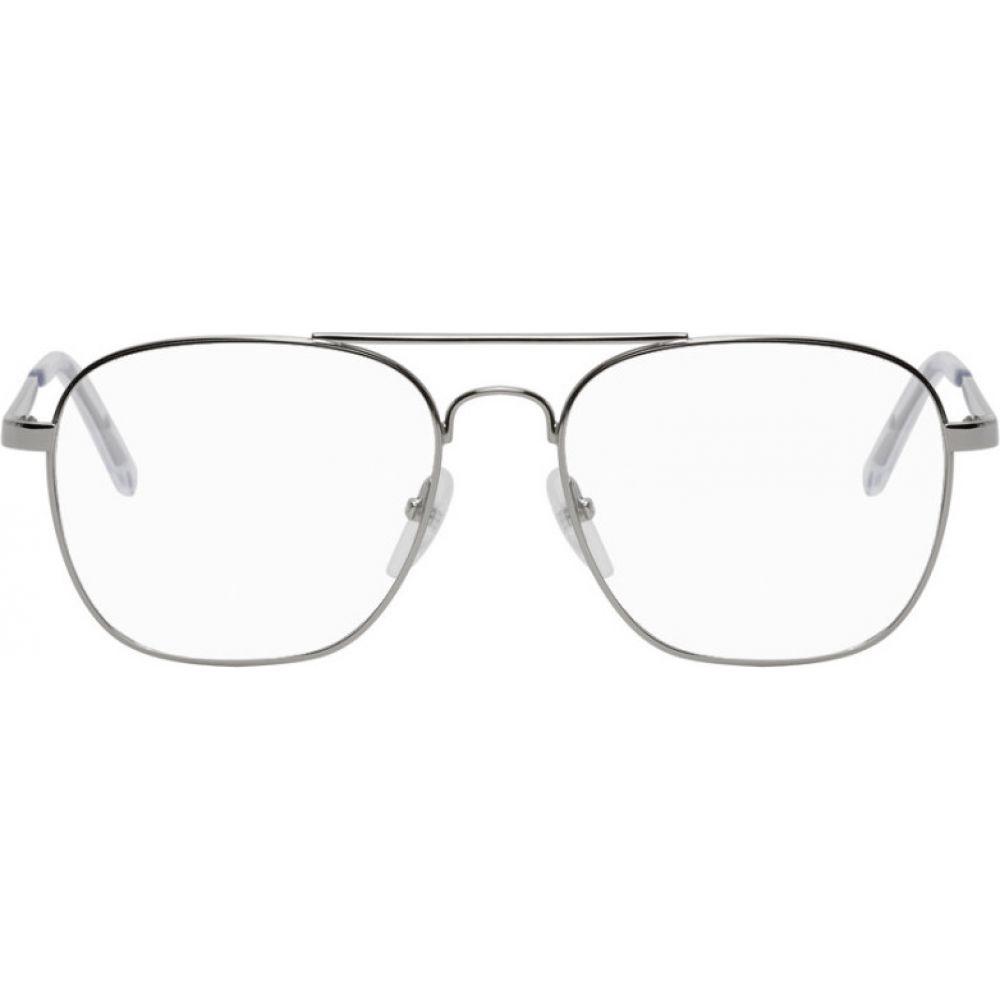 バレンシアガ Balenciaga メンズ メガネ サングラス Silver 倉 pilot metal 数量限定 glasses silver