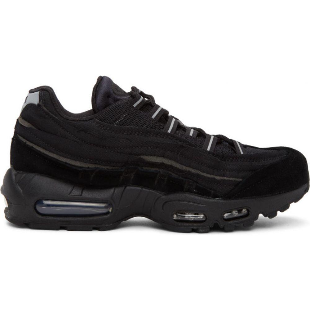 コム デ ギャルソン Comme des Garcons Homme Plus レディース スニーカー シューズ・靴【black nike edition air max 95 sneakers】Black/Black