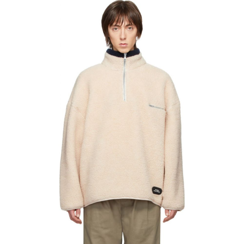 ラスベート Rassvet メンズ フリース トップス【beige fleece zip pullover】Beige