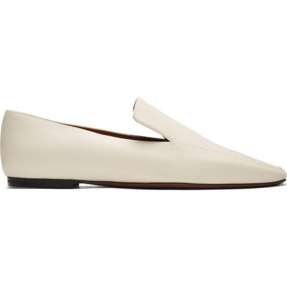 ネオアス NEOUS レディース ローファー・オックスフォード シューズ・靴【off-white prom loafers】Cream