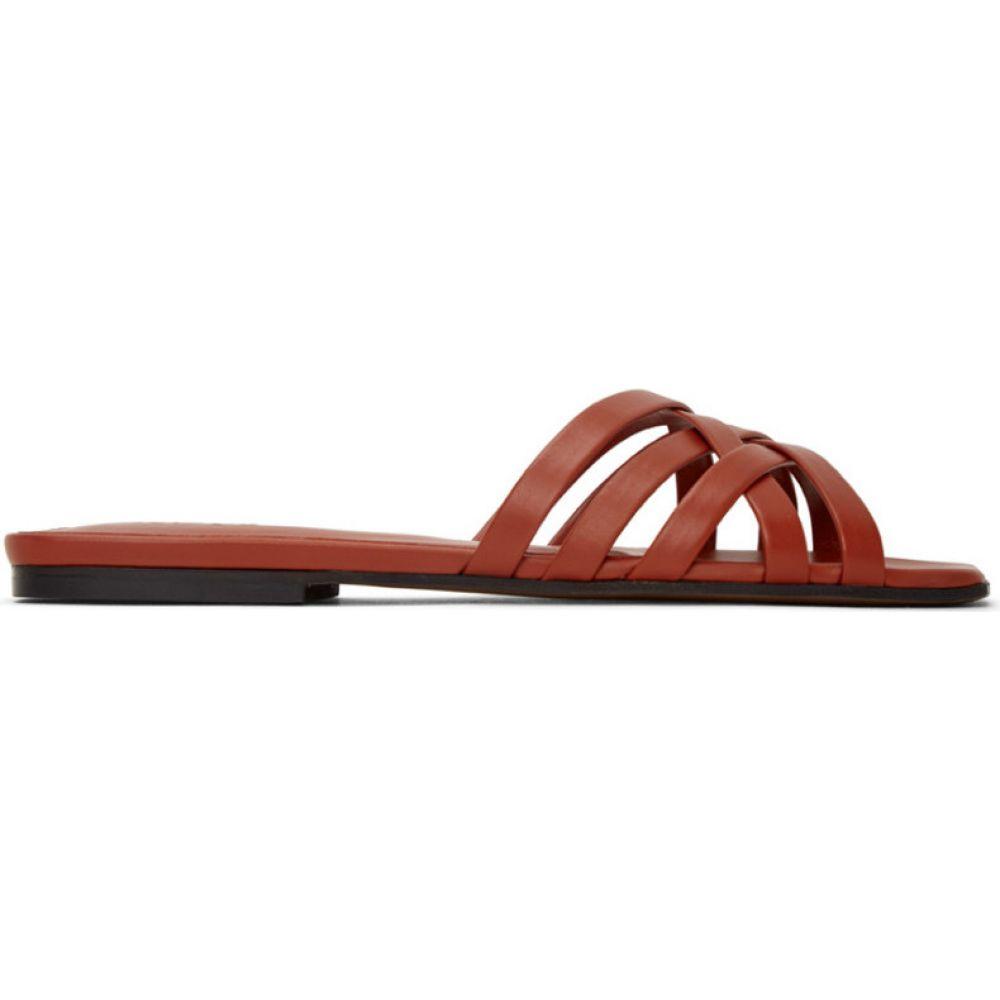 ネオアス NEOUS レディース サンダル・ミュール シューズ・靴【red cophila 5mm heeled sandals】Brick