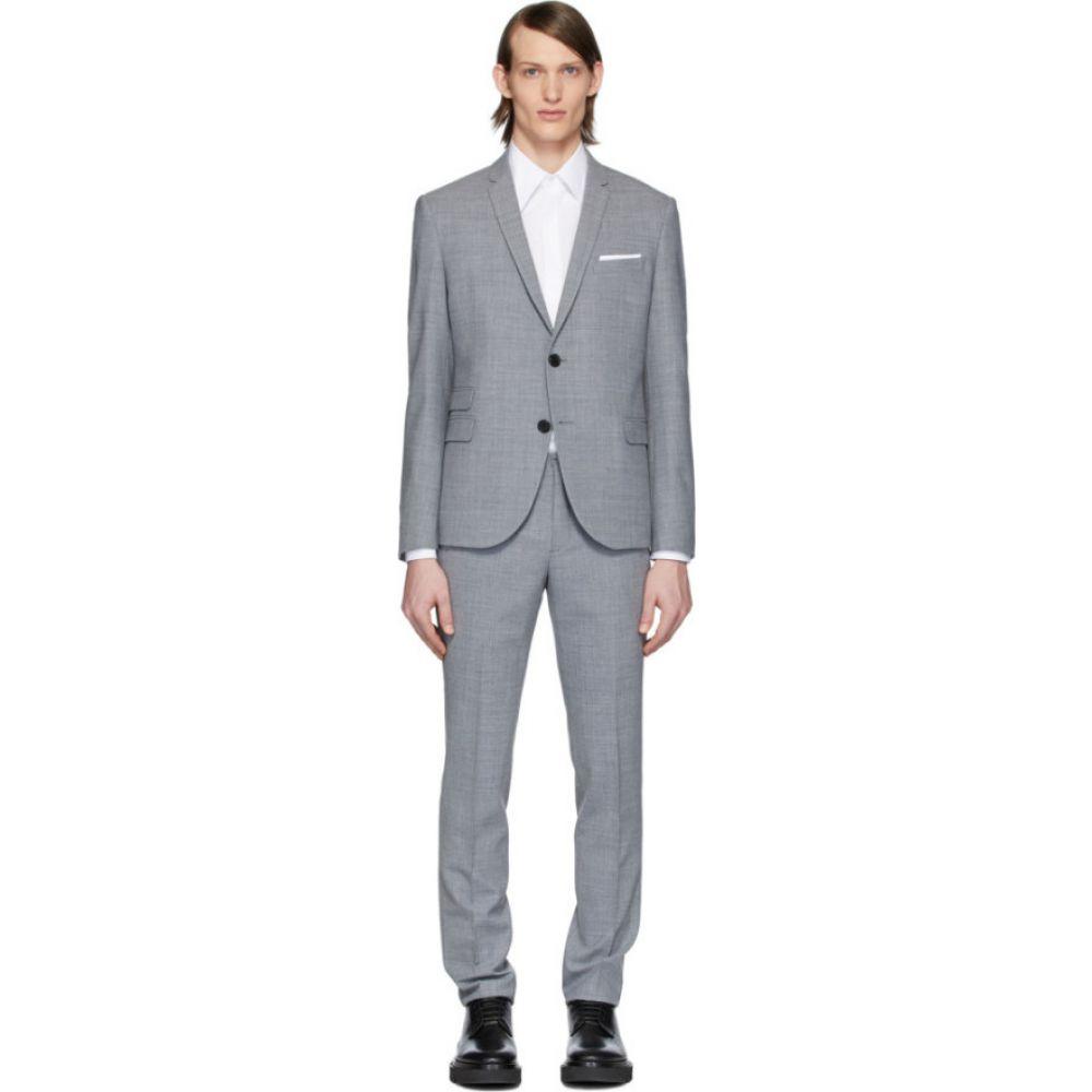 ニール バレット Neil Barrett メンズ スーツ・ジャケット アウター【grey fine travel suit】Smoke